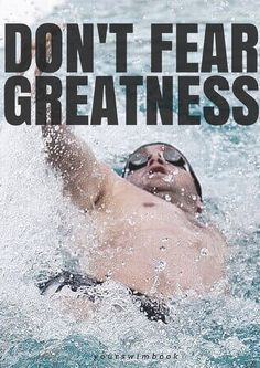 Motivational posters for swimmers. http://www.yourswimlog.com/swimming-posters/