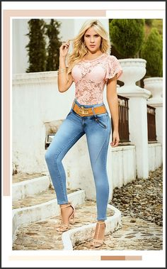 Sexy Jeans, Skinny Jeans, Beautiful Outfits, Cute Outfits, Mode Rockabilly, Fashion Pants, Fashion Models, Fit Girl Motivation, Beauty Full Girl