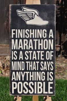 Marathon - Anything is Possible!