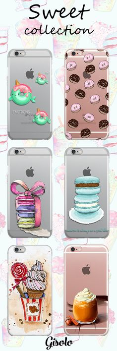 Sweet colorful summer collection high quality silicon cases https://gisolo.com/en/