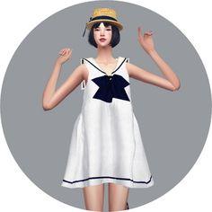 Sailor Dress at Marigold • Sims 4 Updates