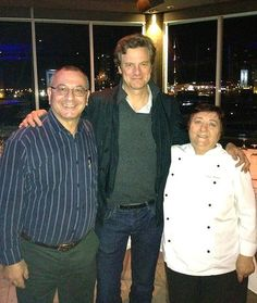 Colin Firth at an Italian restaurant in Brisbane  http://britsunited.blogspot.com/2012/06/colin-firth-spotted-in-brisbane-and.html