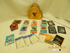 CLUB PENGUIN CARD-JITSU TRADING CARDS! LARGE MIXED LOT! SOME CODE CARDS! AS IS!