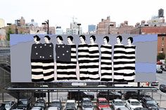 John Wesley revives his 1976 political painting for New York's High Line park