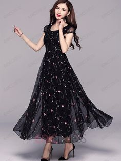 Ericdress A-Line Expansion Maxi Dress Maxi DressesEricdress is a reliable site offering online cheap dresses for women such as long dresses. Hope you will enjoy the latest dresses like white dresses for women & vintage dresses. Stylish Dresses, Simple Dresses, Cheap Dresses, Cute Dresses, Casual Dresses, Maxi Dresses, Woman Dresses, Dance Dresses, Short Dresses