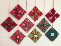 Folded ornament tutorial by Ami Simms