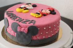 cake design #mickey #minnie