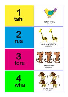 Maori Language Number Match Animals - Numbers with Animal Names for Kids by spannarosy - Teaching Resources - Tes Number Matching, Matching Cards, School Resources, Teaching Resources, Maori Songs, Early Childhood Centre, Shape Posters, Primary Maths, Maori Art