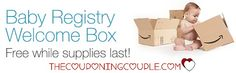 Get a FREE Baby Registry Welcome Box from Amazon Mom! It is full of surprises for NEW or CURRENT Amazon Mom Members!  Click the link below to get all of the details ► http://www.thecouponingcouple.com/free-baby-registry-welcome-box-with-amazon-mom/  #Coupons #Couponing #CouponCommunity Visit us at http://www.thecouponingcouple.com for more great posts!