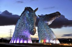 Photo of the Day: The Kelpies, Falkirk, Scotland. Congrats @michaelg_photog Upload yours on http://www.earth-pics.com  pic.twitter.com/uAOqhRjbgk
