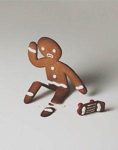 Artist: Brock Davis ~ Gingerbread with an artist urban street inspiration! ~