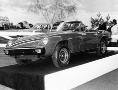 Jensen Healey at the Geneva Motor Show 1972