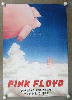 Rose des affiches de concert Floyd Oakland 1977 par PosterScene                                                                                                                                                                                 Plus