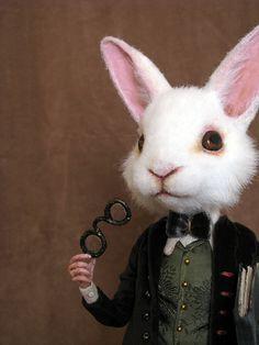looking glass project White Rabbit from Alice in Wonderland Lapin Art, John Tenniel, Rabbit Art, Rabbit Hole, Bunny Rabbit, White Rabbits, Bunny Art, Adventures In Wonderland, Funny Bunnies