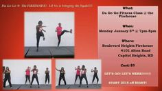 DA GOGO Fitness rolls out another class with a dynamically energetic instructor, Kennedra Tucker. Yes!! Not only does she hold multiple certifications, but she's got a Master's degree in kinesiology....The movement of the body. Come start the New Year right!!