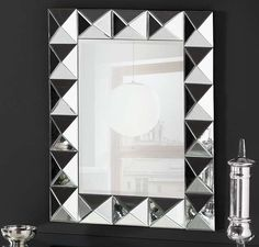 Fancy Mirrors, Mirror Artwork, Home Decor Shelves, Diy Mirror, Decoration, Diy Projects, Diy Crafts, Wall Art, Design