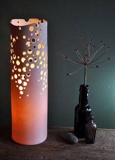 Kimberlight Porcelain Lamp by AmyCooperCeramics on Etsy, £130.00