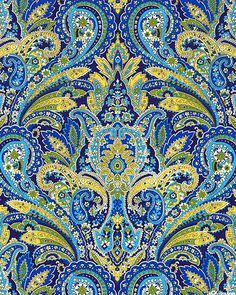 eQuilter Kaffe Fassett's Quilts in the Cotswolds Paisley Color, Paisley Design, Paisley Pattern, Paisley Print, Paisley Drawing, Decoupage, Textile Texture, Gold Embroidery, Fabric Decor