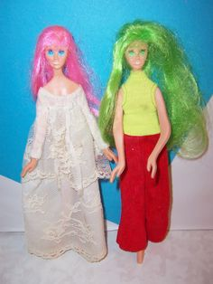 all lengths Red//Orange Doll Gloves for vintage Barbie Francie and Stacey