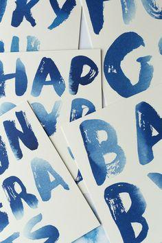 Sycamore Street Press: Indigo Cards