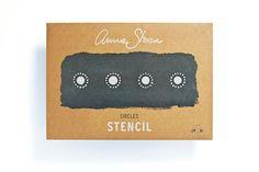 Circles Annie Sloan Stencil