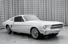 Here's one of many '67 Mustang concept clays considered early in 1965. Those seemingly functional side scoops would have been nice. And then there's that pesky issue called cost. These cool styling nuances never made it.  View all photos of Mustang Concepts You Need to See at