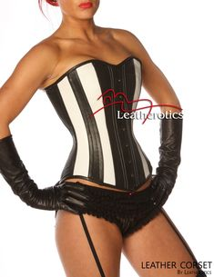 Full Grain Leather Corset Victorian Style Overbust Fitting 1252B Sexy Corset, Overbust Corset, Wedding Corset, Leather Corset, Waist Training, Victorian Fashion, White Leather, Clothes For Women, Swimwear