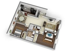 Check out the 3D floor plans!