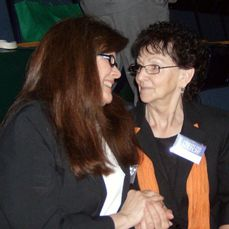 Convention in Portland, Maine 2009  We were reunited  after 40 years.  She was a witness,  I lived downstairs from her. I was not a witness and very opposed to her religion. I moved to Pennslvania. How surprised she was that I was now her sister. Love you Jody