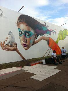 Belin (Miami) #street art #grafitti
