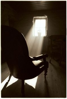 RedBubble.tumblr.com...this is amazing..I love the light and the chair..the thoughts it provoked...the sense of oneness with creation represented by the light falling on the shadow..purely my prospective on the piece...~neilsonpm