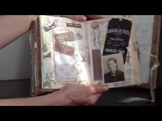 ▶ Altered Book ~ Heritage - YouTube