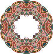 Diseños arabescos - Colecciones de Clip Art e Ilustración. Compre imágenes clipart libres de royalties. por Lushpix Illustration