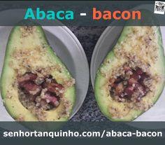 Tem receita nova no ar!  Receita LCHF & Paleo: Abacate  Bacon = Abaca-Bacon  Mais uma deliciosa e prática receita para te ajudar a emagrecer feliz.  Acesse http://ift.tt/1RxCWAS para aprender a fazer essa iguaria em 3 minutos!  #emagrecer #atkins #lowcarb #highfat #timferriss #4hourbody #4hb #slowcarb #lowcarb #diet #dieta #dica #paleo  #keto #cetogenica #ketosis #antesedepois #glutenfree #lactosefree