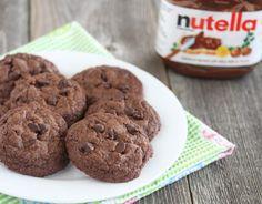 Faça cookies de Nutella com apenas 3 ingredientes