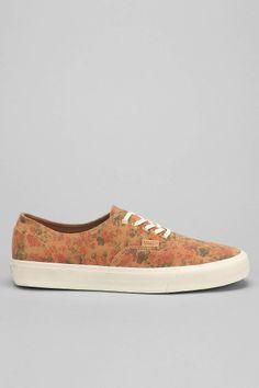 Vans Authentic Floral Men's Suede Sneaker