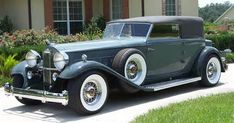 Classic Packard runs our off-the-shelf wheels. Owner: Mr. John Wise