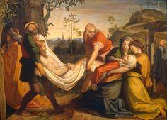 Peter von Cornelius - Entombment of Christ
