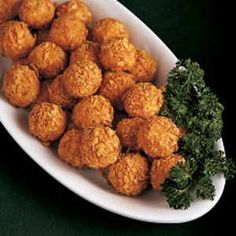 These potato balls make a good snack or appetizer (my two older boys love them with any meal!), and they're a good way to use up leftovers. In fact, I often find myself peeling a few extra potatoes just to make sure there will be leftovers. I've also substituted ground-up hot dogs or sausage for the ham.