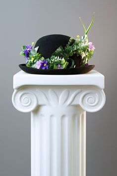 My bowler hat creation for the image, 'Art from Within'.