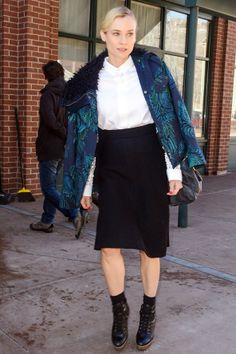 Celebrity Style - Diane Kruger - monstylepin #celebrity #style #fashion