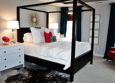 Pretty Gray Bedroom (paint color is Silver Chain by Benjamin Moore)