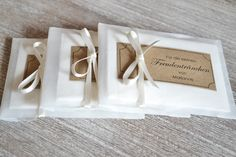 Freudentränen-Taschentücher Hochzeit Vintage