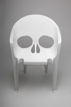 ICFF. NYC...Pool- Skull Chair.