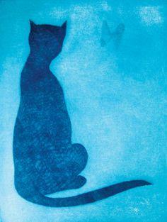 The Burmese Cat by Charles Blackman Burmese, Australian Artists, Artist Art, Impressionism, Cool Art, Artsy, Scene, Cat, Cool Stuff