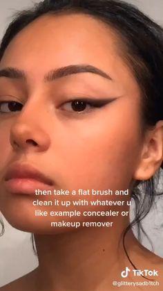 Edgy Makeup, Makeup Eye Looks, Grunge Makeup, Cute Makeup, Sweet Makeup, Glamour Makeup, Makeup Tutorial Eyeliner, Makeup Looks Tutorial, Makeup For School
