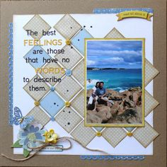 My Creative Footprints: More 'For The Record scrapbook layout Beach Scrapbook Layouts, Scrapbook Quotes, Vacation Scrapbook, Wedding Scrapbook, Scrapbook Designs, Scrapbook Sketches, Scrapbooking Layouts, Scrapbook Cards, Photos Bff