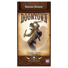Doomtown Reloaded Card Game Frontier Justice Saddlebag Expansion Pack