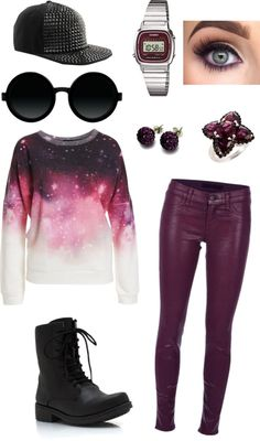 """I want it rough in space"" by emmi-pus on Polyvore"