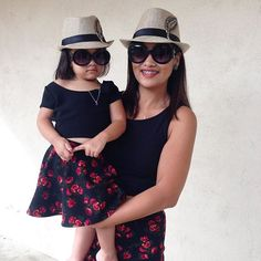 #fbf When my #MiaKarizma was still little! I so love matching our outfits, thanks to @project_mini for our cute outfits! . . . . . #matchymatchy #mommyandme #motheranddaughter #likemotherlikedaughter #fedora #skaterskirt #pencilskirt #sunglasses #matchingoutfits #ootd #potd #cute #like #love #fashionistas #momlife #kidlife #MiaKarizmaC